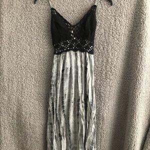 Target - Xhilaration TieDye Embroidered Dress -XS